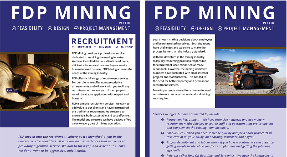 FDP Recruitment Brochure - both pages