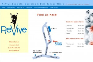 Revive Website