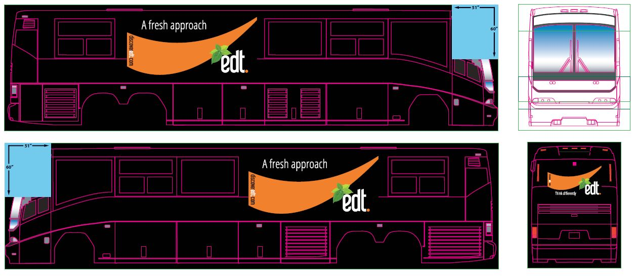 EDT Bus Wrap