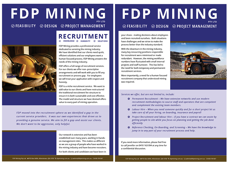 FDP Recruitment Brochure both pages
