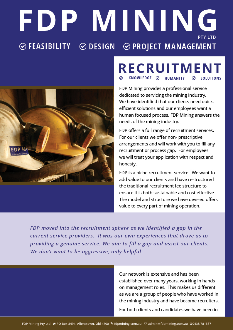 FDP Recruitment Brochure p1